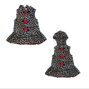 3 for $20- Kids Headquarters Leopard Print Hooded